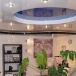 Натяжные потолки — лучшее для кухни