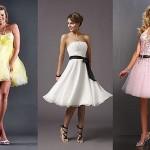 Короткие вечерние платья в сезоне 2012 года