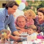 Организация семейных праздников