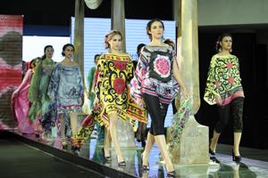 Традиционный подиумный показ мод