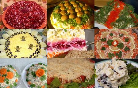 Вкусные рецепты готовим салаты