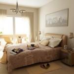 Дизайн интерьера в спальной