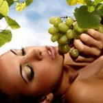 Виноградные маски подарят лицу чистоту и свежесть