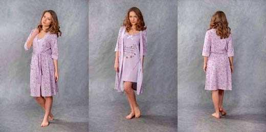 История женских халатов