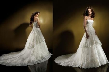 Идеальный образ на свадьбу: платье