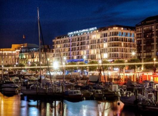 Hotel d'Angleterre - пятизвездочная роскошь в центре Женевы
