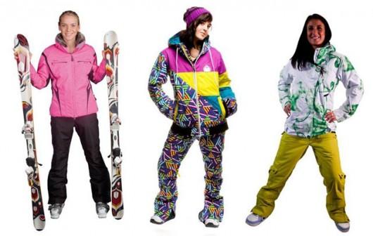 Модная одежда для зимнего отдыха и спорта
