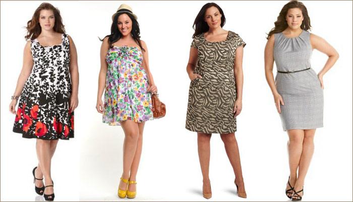 Какие платья одевать полным женщинам
