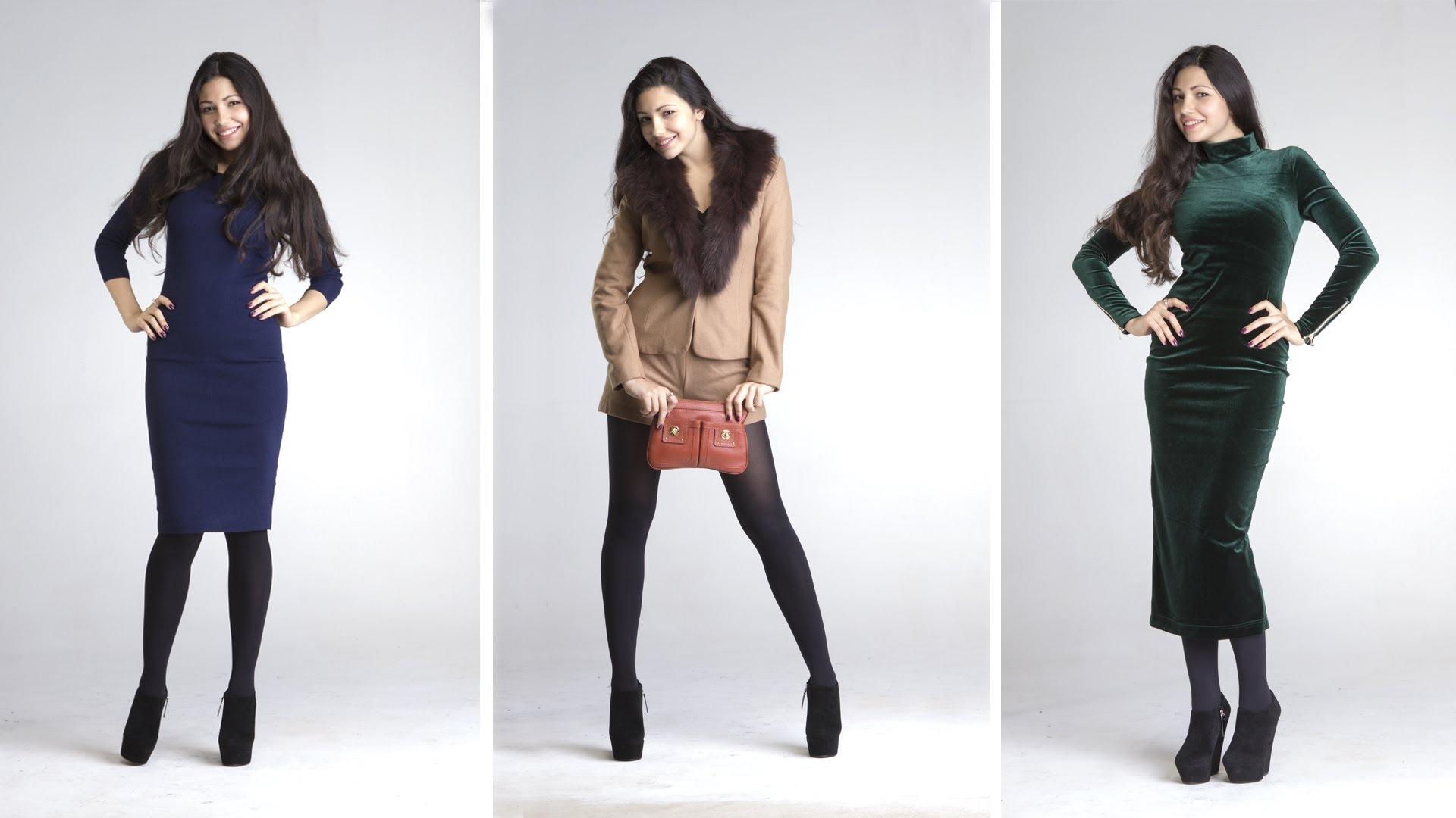 Модно одеваться зимой